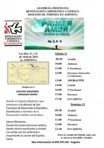 Asamblea Diocesana RCC Tortosa