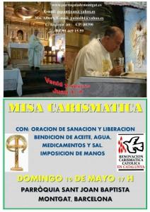 Misa Carismática Mayo Montgat