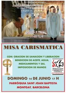 Misa Carismática Junio Montgat
