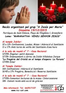 Retiro Granollers 19-12-2015