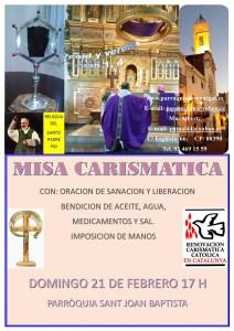 MISA SANACION 21 DE FEBRERO