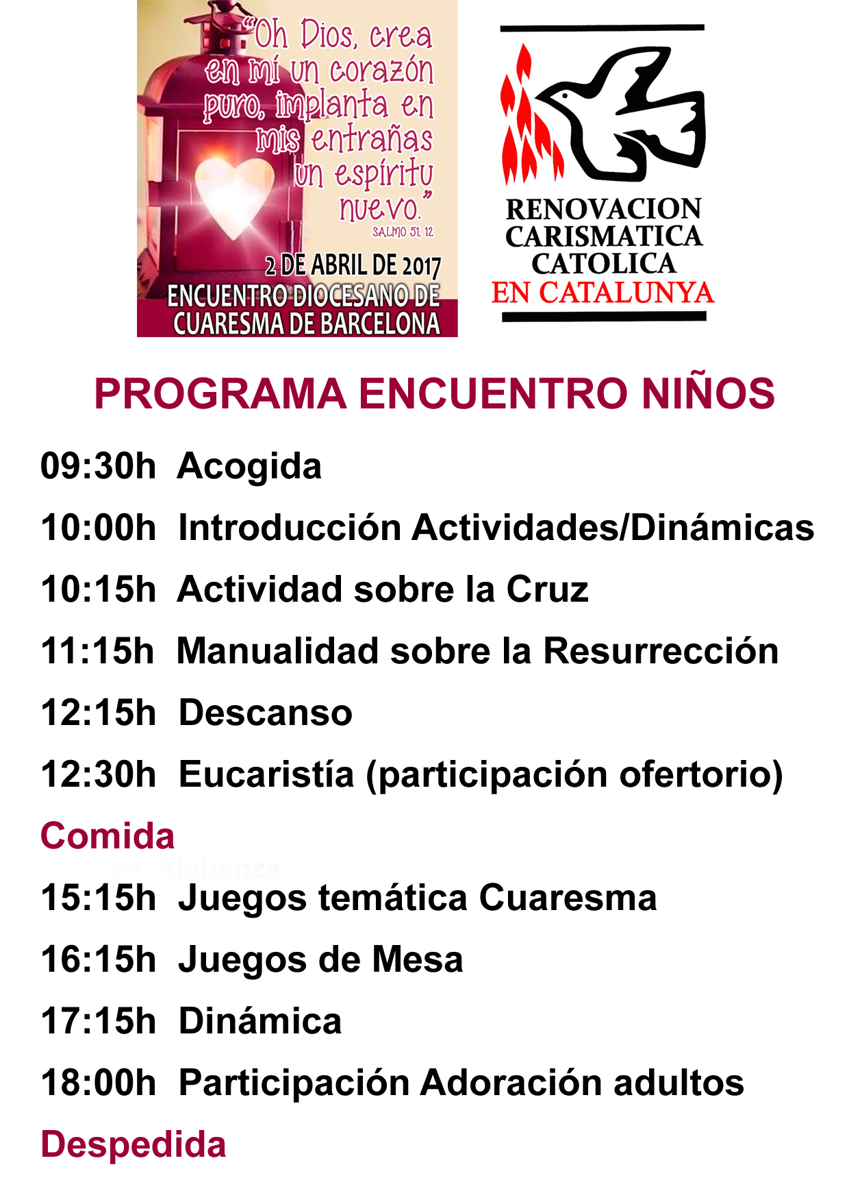 02 04 2017 Encuentro Diocesano De Cuaresma De Barcelona