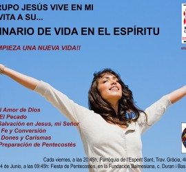 Cartel SVE Jesus Vive en Mi DINA4