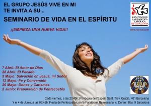 Cartel SVE Jesus Vive en Mí
