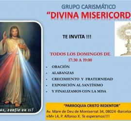 Cartel Grupo Divina Misericordia